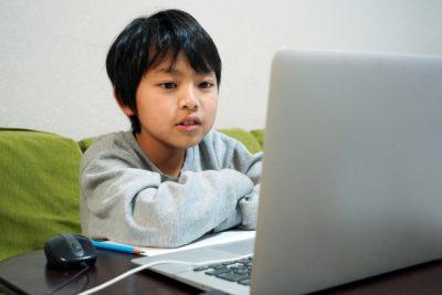オンライン授業小学生